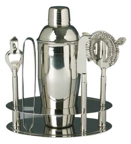 Franmara: Side Bar Cocktail Shaker Set, Stainless Steel