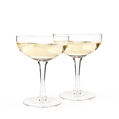 TRUE BRANDS: Old Kentucky Home - Glass Champagne Coupe Set by Twine