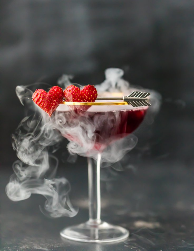 LOVE POTION #9 MARTINI (TRIPLE BERRY MARTINI)