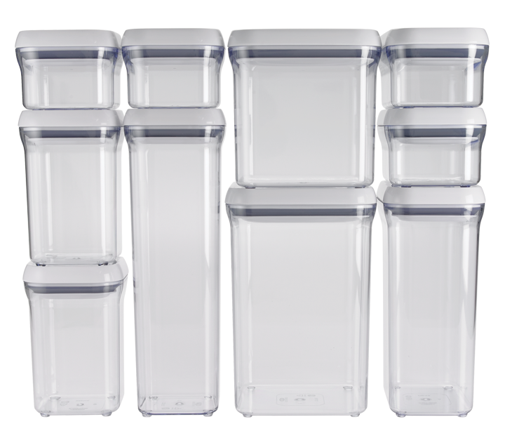 OXO: 10-Piece POP Container Set