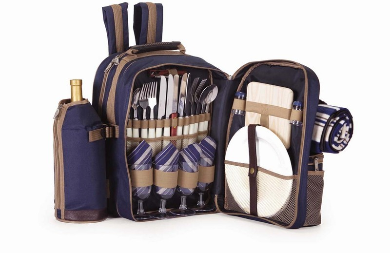 Picnic Plus: Tremont 4 person picnic backpack