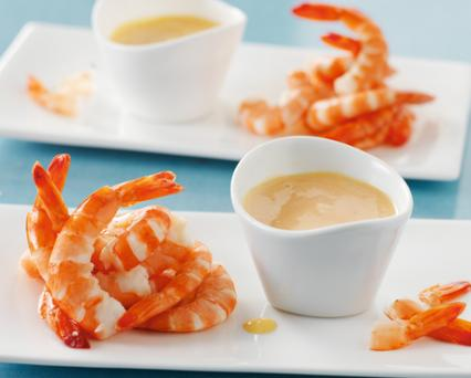 Shrimp Cocktail with Sauce