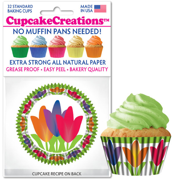 Cupcake Creations: Tulip Liner