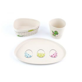 Peterson Housewares: Dinosaur -5pcs Kids Dinnerware Set