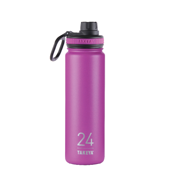 Takeya: 24oz Insulated Bottle w/Spout Lid