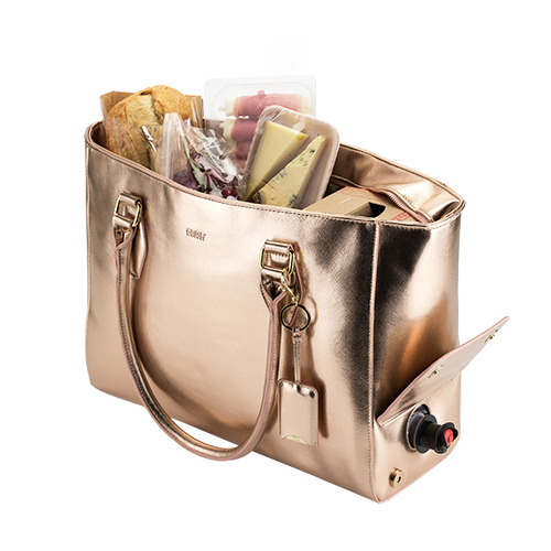 TRUEBrands: Insulated Tote Rose Gold by Blush