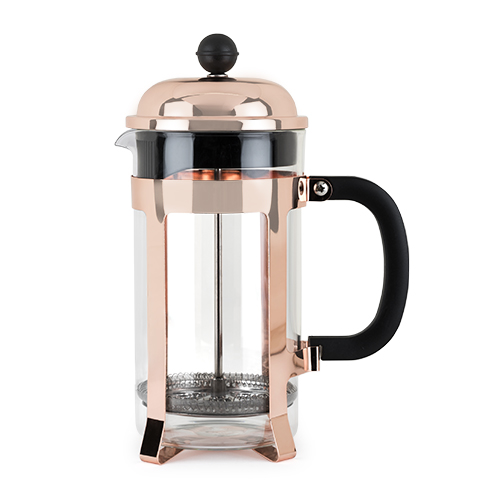 TRUE Brands: Piper Rose Gold Press Pot