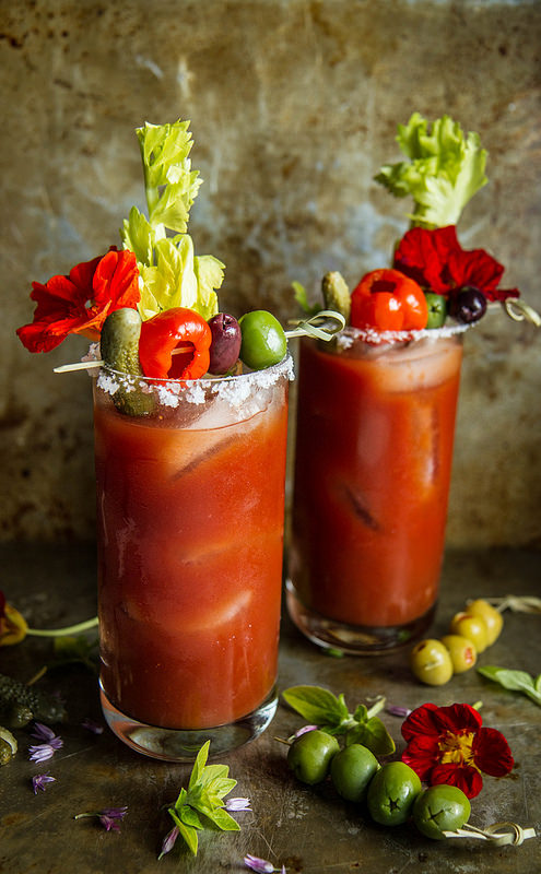 Roasted Red Pepper Bloody Mary