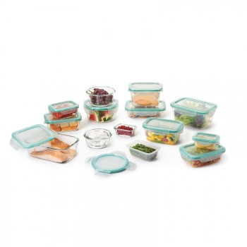 OXO: 30 piece snap glass & plastic storage containers