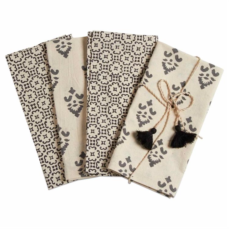 Henna Block Print Napkin