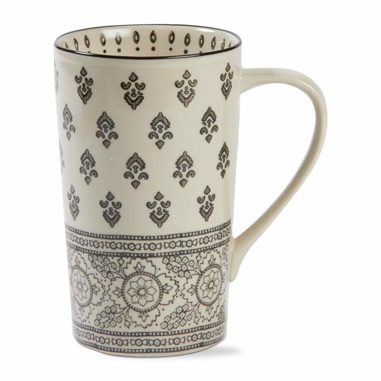 Henna Hand Stamped Mug