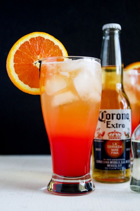 Corona Sunrise Cocktails