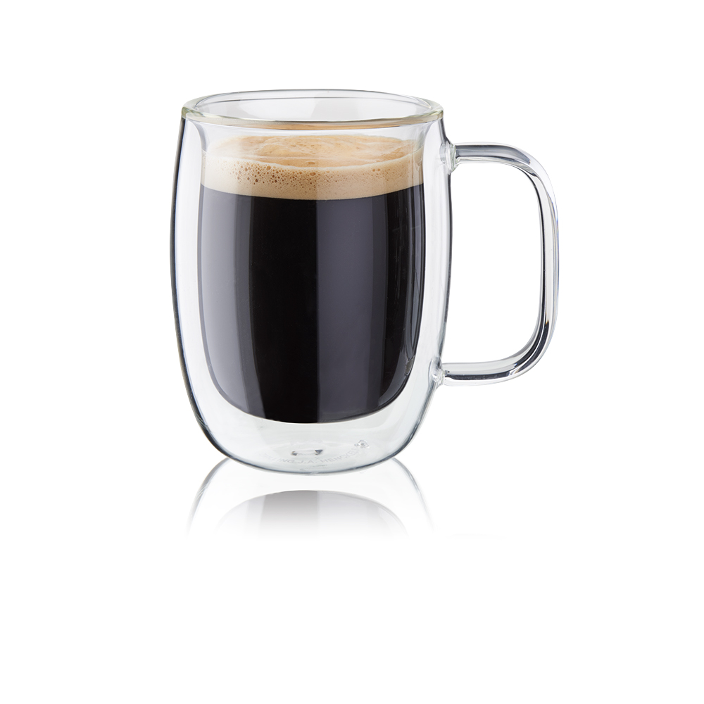 Zwilling Sorrento Double-Wall Glass Double Espresso Mug Set