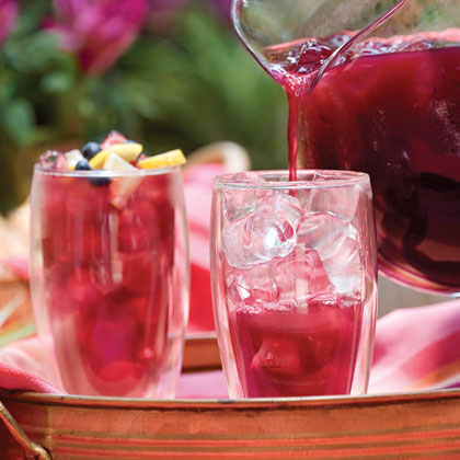 Blueberry-Lemon Iced Tea