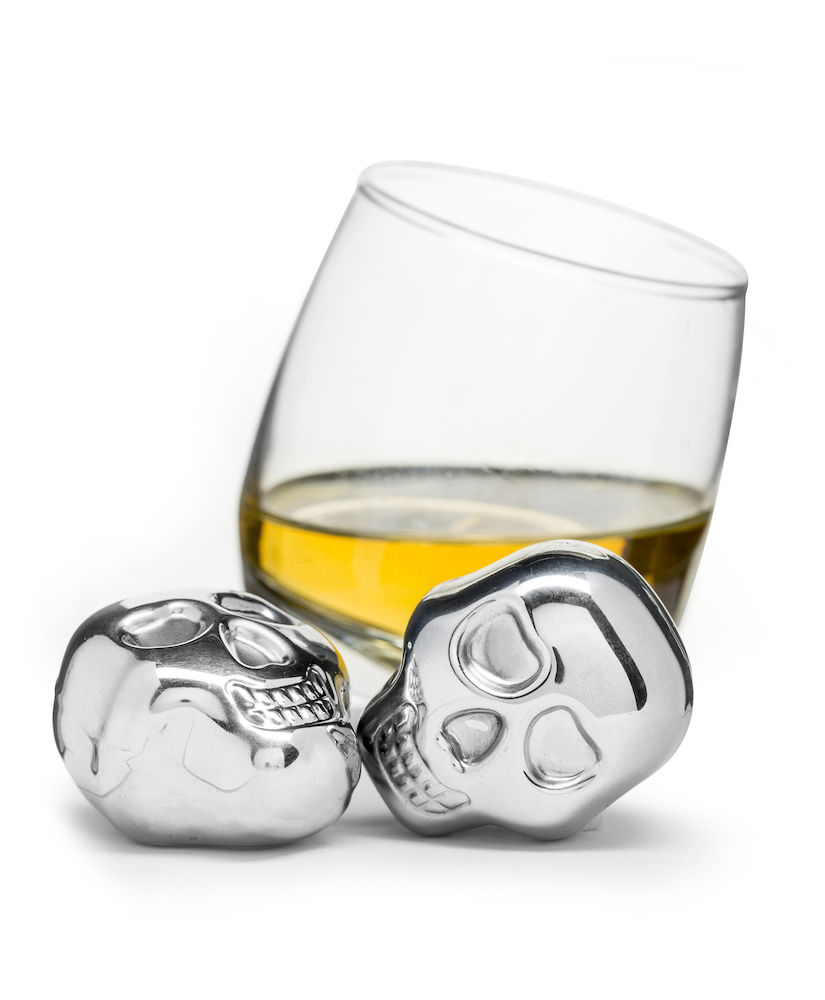 Sagaform: Club Ice Cubes in Stainless Steel, 2-Pack