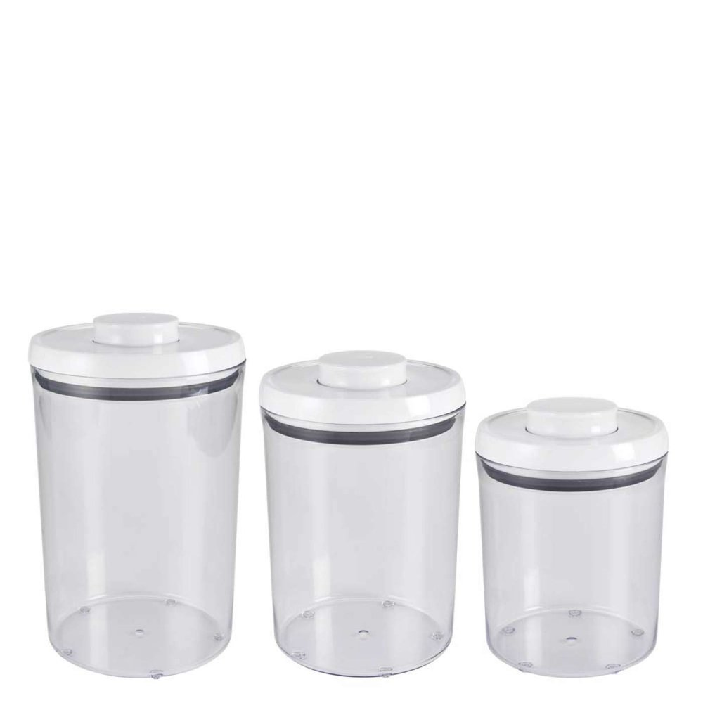 OXO: 3-Piece POP Round Canister Set