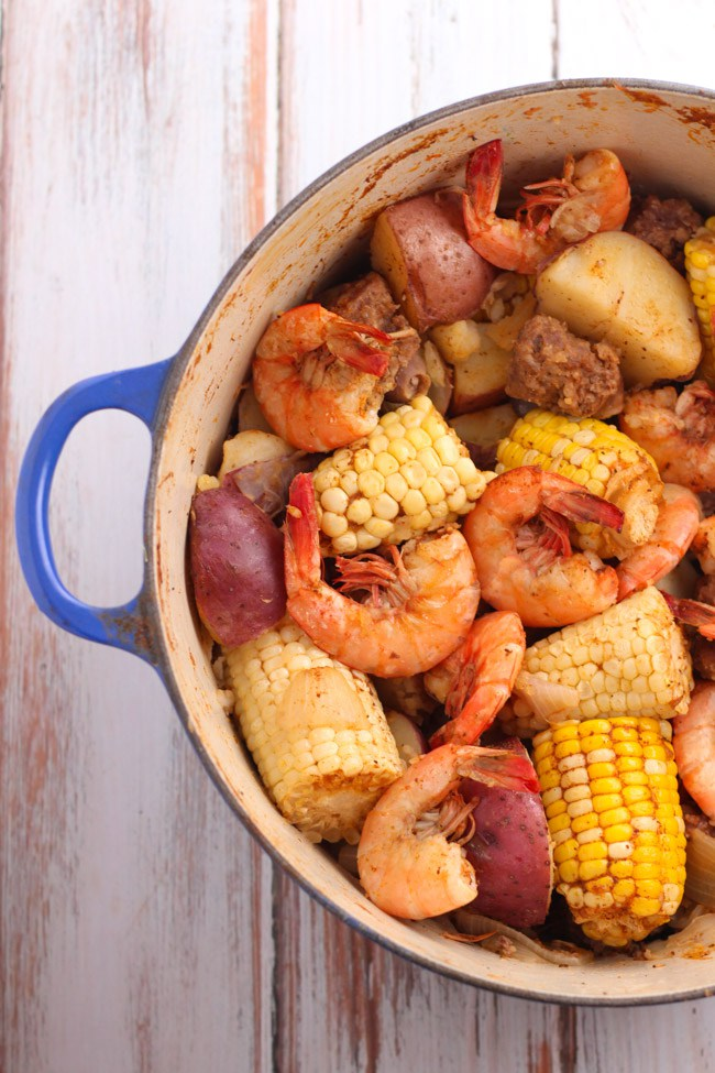Old Bay Shrimp Boil