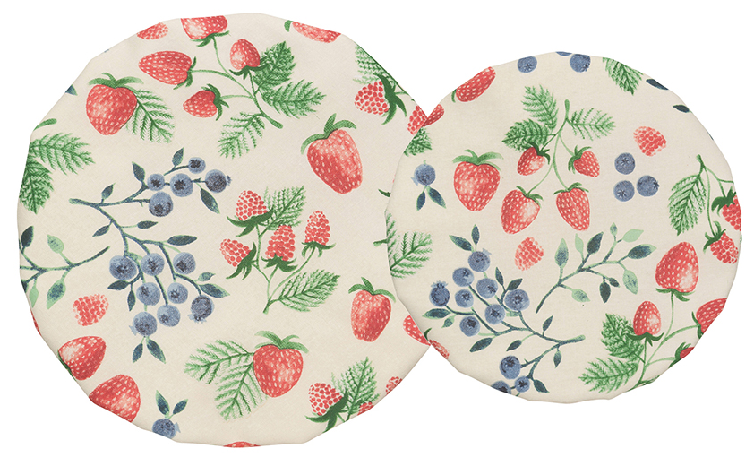 Now Designs: Berry Patch Bowl Covers  Set of 2