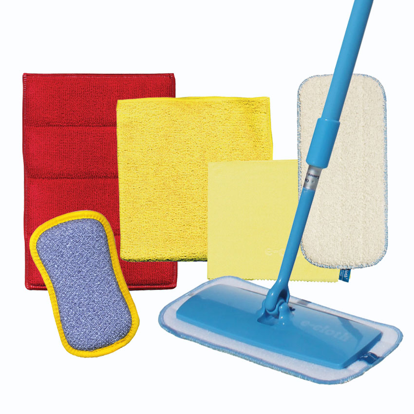 e-cloth: Total Bathroom Cleaning Set 6pc