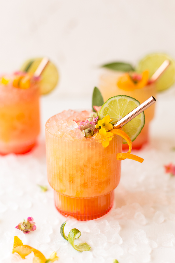 Pineapple Mango Rum Punch