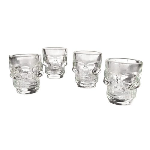 True Brands: Skull Shot Glasses