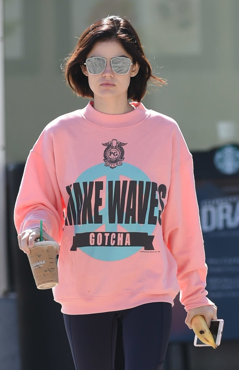 LUCY HALE in NYAH