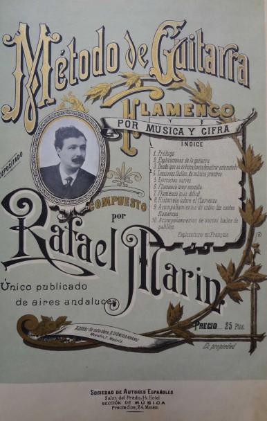 Historia de la escritura musical para la guitarra flamenca