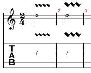 Vibrato en la guitarra (clases guitarra online y presenciales en Vitoria-Gasteiz)