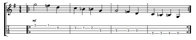 Canciones mandolina fácil pdf