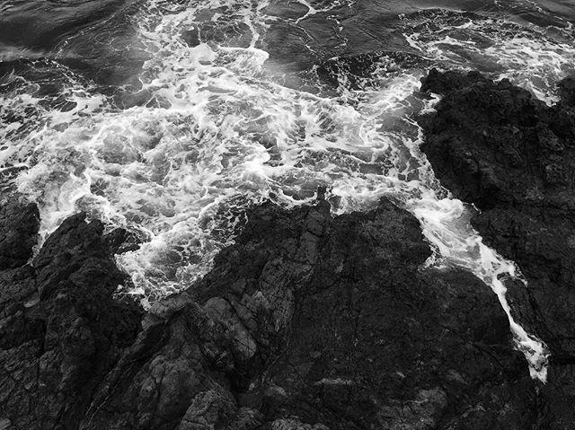 Baja Seascape 2/2 #paintshopla #baja #blackandwhite #texture #seascape 📸: @wytown
