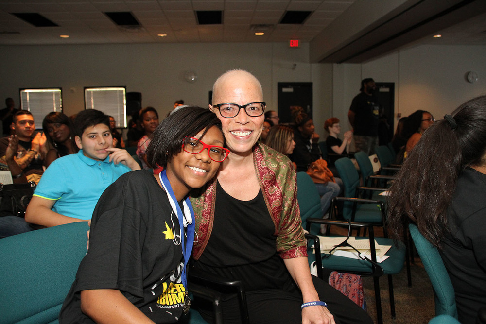2015 LTAB Giselle Robinson & award winner, Amber Brown