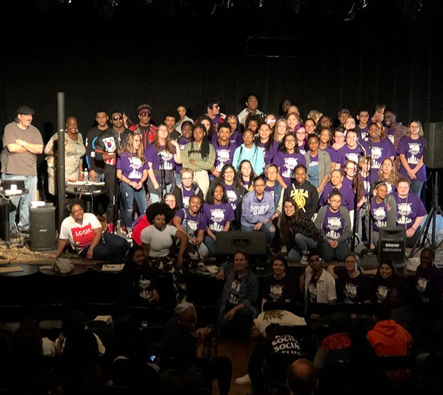 Thank you to everyone that participated & supported YDFW's LTAB 2018! Congratulations to Ranchview in Carrollton-Farmers Branch ISD for winning the Chuck D Lyrical Activist Award. And to LAKEVIEW CENTENNIAL in Garland ISD for the overall win!!! #ydfwltab #ranchviewhighschool #lakeviewcentennial #carrolltonfarmersbranch #garlandisd