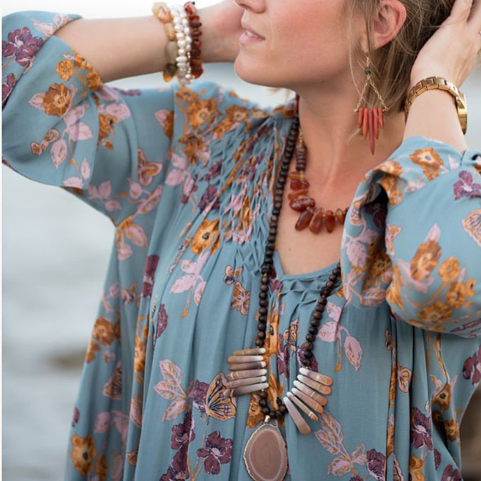 "Tidal Jewelry    .""I love incorporating the old with the new, the vintage with the trendy to make beautiful, one-of-a-kind pieces."" _Annie O Brien"