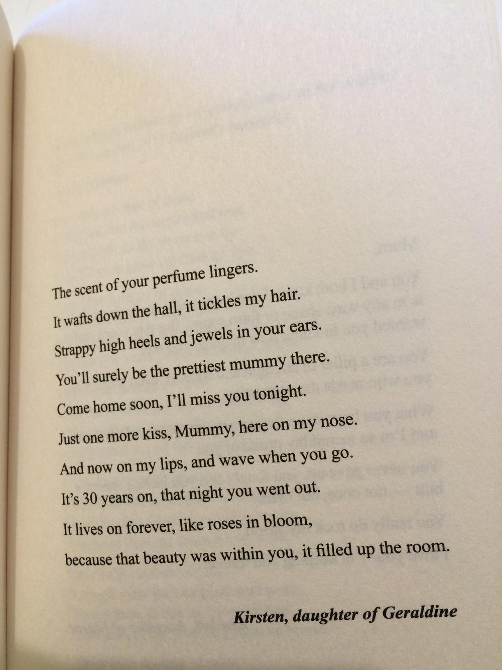Mums Poem