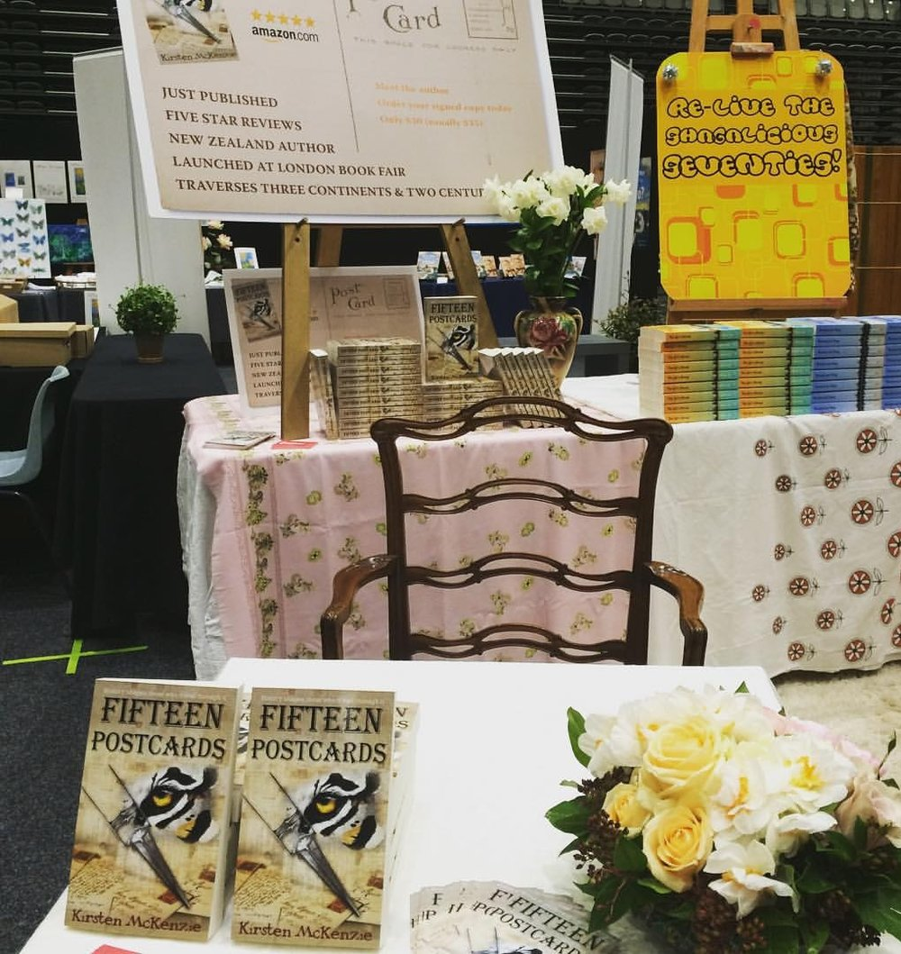 Photo from the 2015 NZ Book Festival
