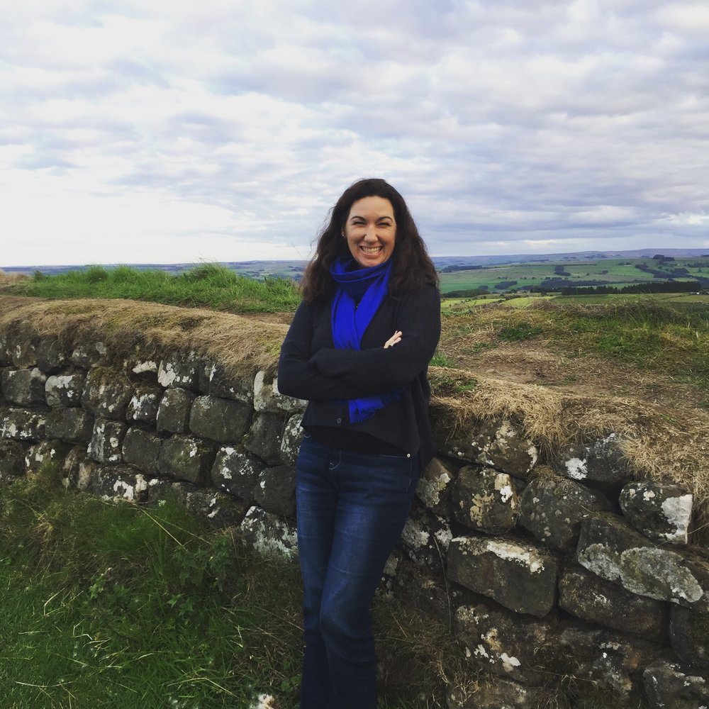 Kirsten and Hadrians Wall