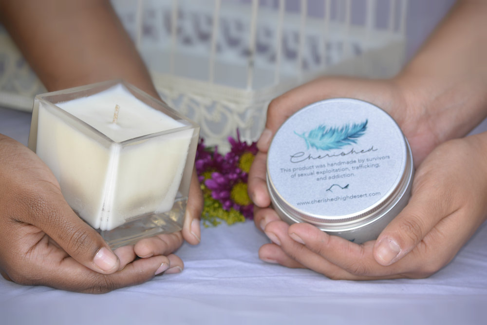 Job Opportunities - In our Social Enterprise, our survivors become artisans. They handcraft jewelry, all-natural bath and body products, and soy candles. Shop in our online store or visit us at one of the many events we attend.