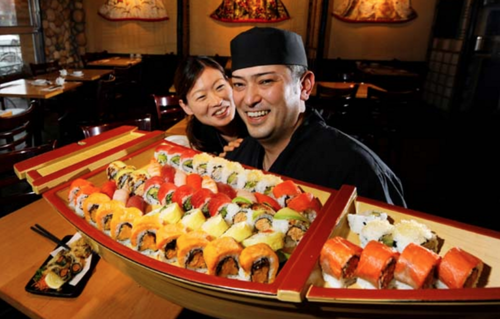 "Sushi Sen - ""Every time I come here, I'm happy.""  (image source: vancouversun.com)"