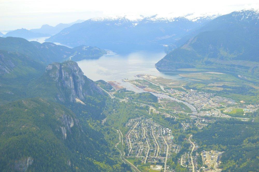 Even better than mountaintop views? Sea plane views!  (image: maryinvancity.com)
