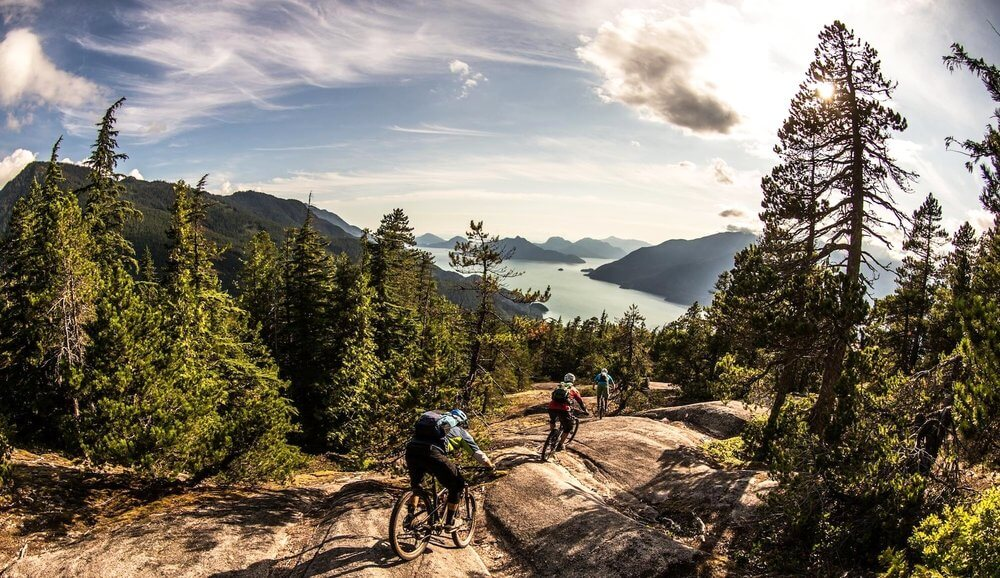 squamish mountian biking tour image
