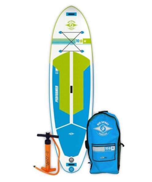 INFLATABLE - For all-round use, touring, whitewater, fitness and windsurfing. Ultra-light construction = easy to carry. SPECS11' x 34