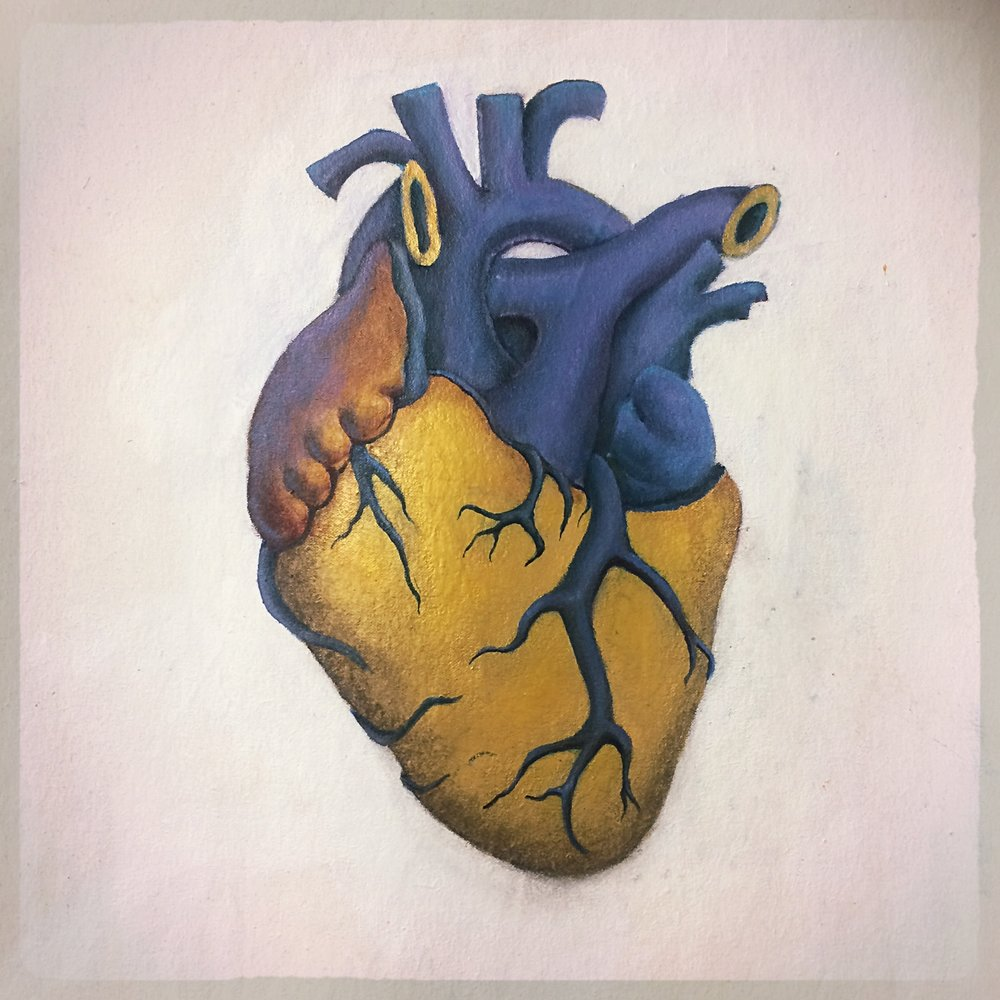 This is my heart, is a Venezuelan heart.