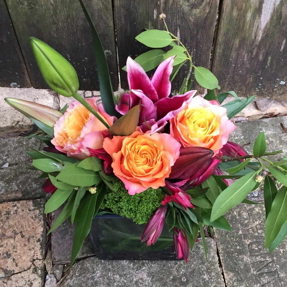 surprise flowers for a party