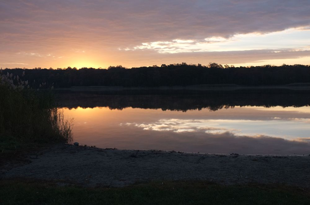 Sunrise at White Lake, NJ