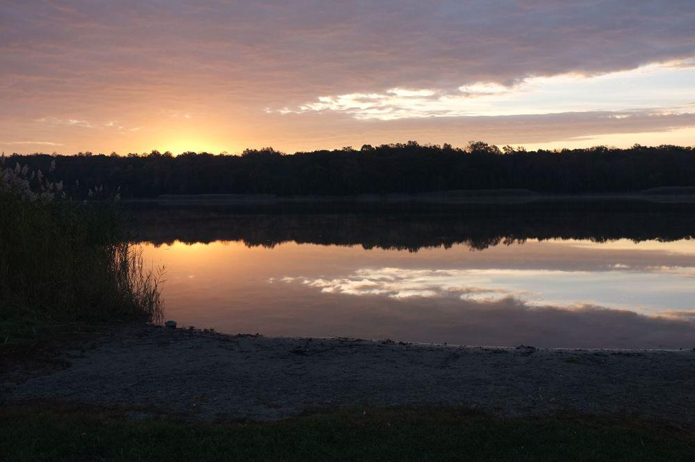 Sunrise at White Lake, NJ