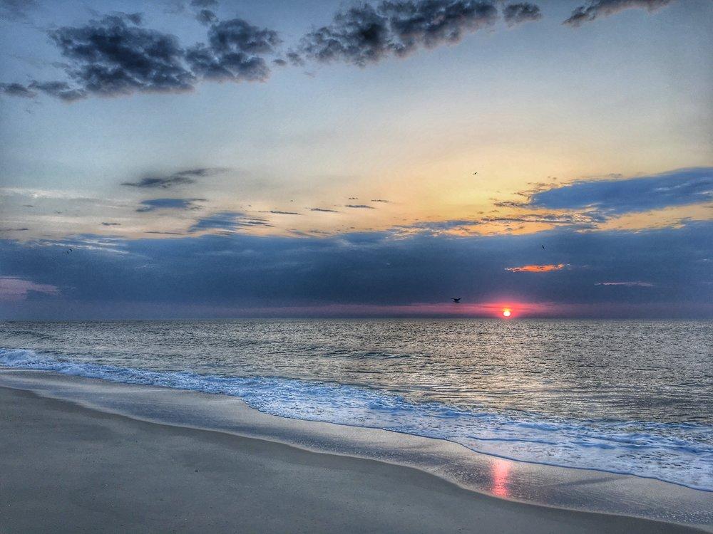 Easter sunrise: Pt. Pleasant, NJ
