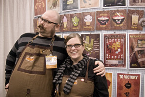 Daniel and Dawna, proprietors of Steam Crow.