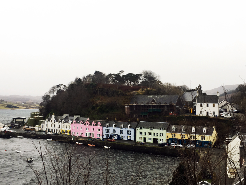 Portree Harbour in Skye