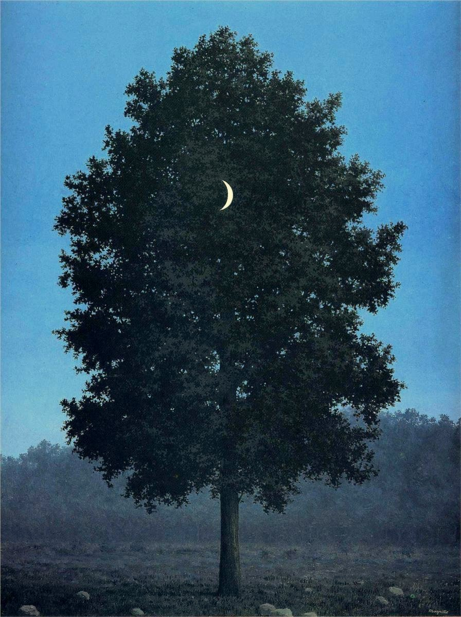"Rene Magritte, ""The Sixteenth of September (Le seize septembre)"" 1956-1957"