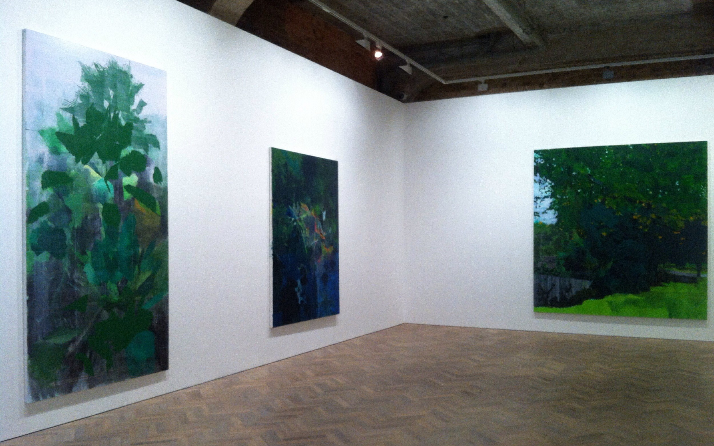 Installation view at Thomas Dane